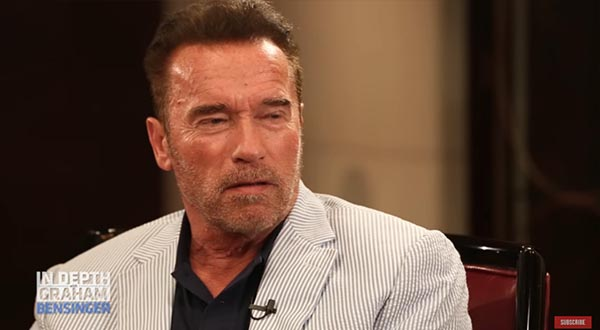 Arnold Schwarzenegger Chats With Graham Bensinger About Austria And America, And Why He Started Body Building