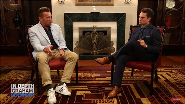 Arnold Schwarzenegger Talks About His Heart-Surgery And Health With Graham Bensinger