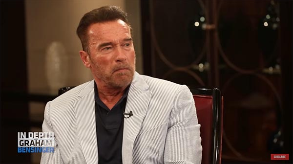 Arnold Schwarzenegger Talks To Graham Bensinger About His Early Business Ideas And Investing In Real Estate