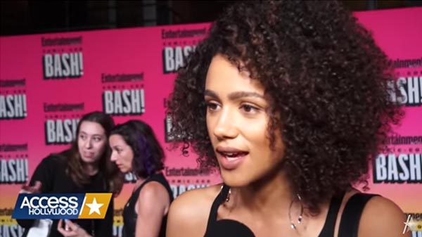 Access Asks Nathalie Emmanuel About Being At Comic-Con And