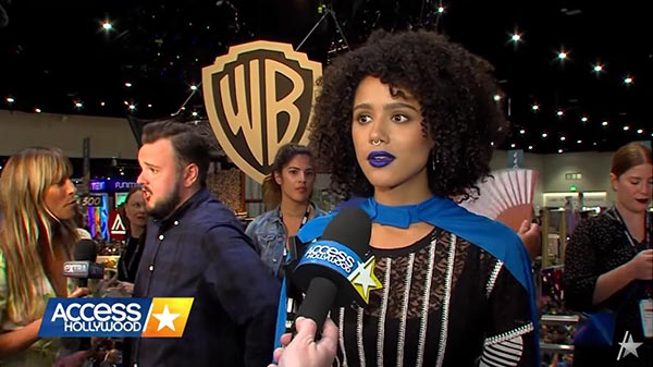 Nathalie Emmanuel Chats With Access Hollywood About Her Character On 'Game Of Thrones'
