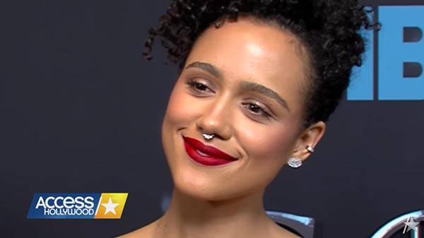 Access Hollywood Talk To Nathalie Emmanuel About Missandei And Grey Worm's Romance On 'Game Of Thrones'