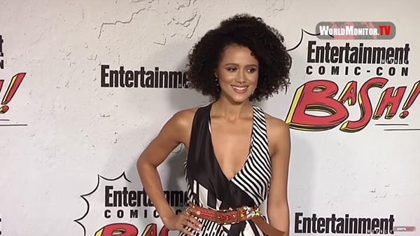 Nathalie Emmanuel Arrives At Entertainment Weekly's Annual Comic-Con Party