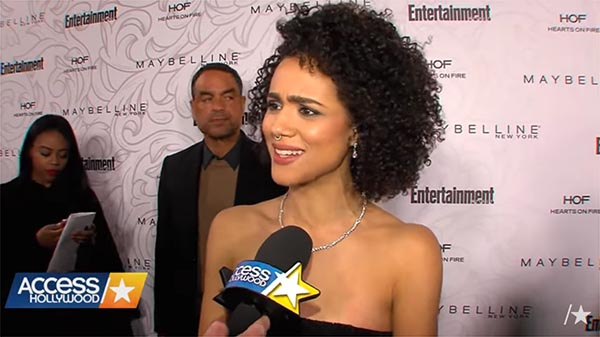 Access Hollywood Interviews Nathalie Emmanuel About Filming Season 7 Of 'Game Of Thrones'