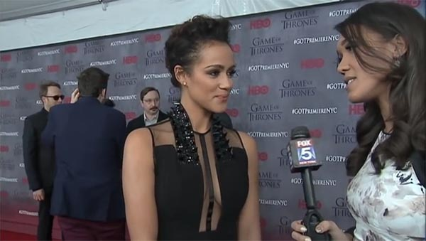 Simone Boyce Interviews Nathalie Emmanuel About Her Character Missandei On 'Game Of Thrones'